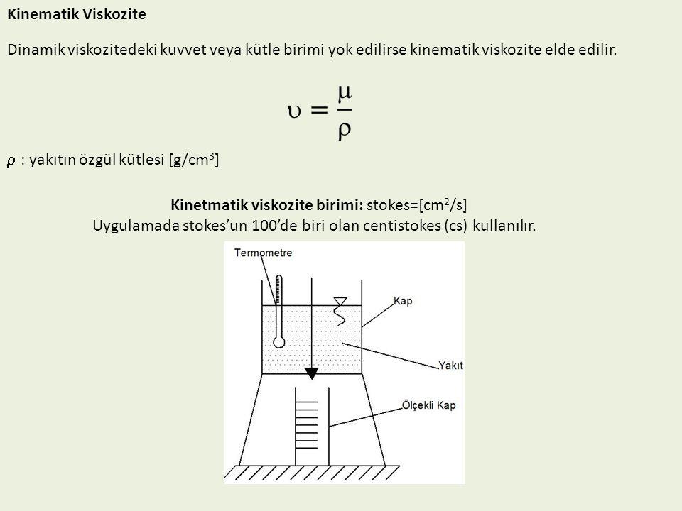 Kinetmatik viskozite birimi: stokes=[cm2/s]